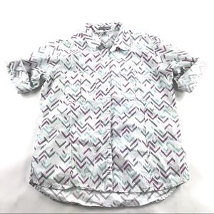 Horny Toad Organic Cotton Button Front Shirt